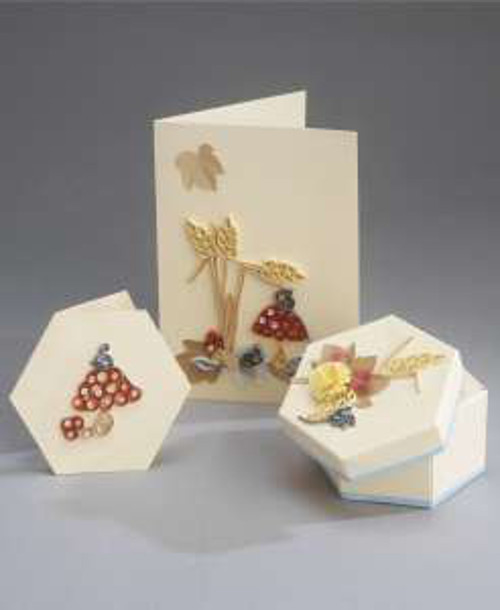 Quilling Card and Gift Box Kit - Autumn Harvest *DISCONTINUED Last Few Remaining*
