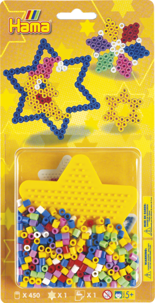 Small Hama Midi Bead Kit - Stars (4149)
