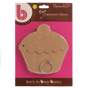 Papermania Cupcake Bare Chipboard Album
