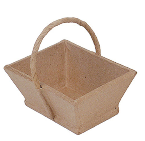 Small Paper Mache Shopping Basket by Decopatch
