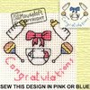 Special Occasions Cross Stitch Kit - New Baby Congratulations