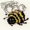 Stitchlets Cross Stitch Kit - Bee