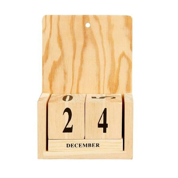 Wooden Decorate Your Own Perpetual Calendar