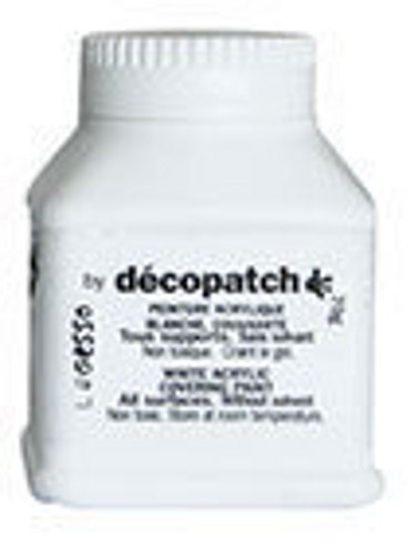 Decopatch White Acrylic Paint 70g