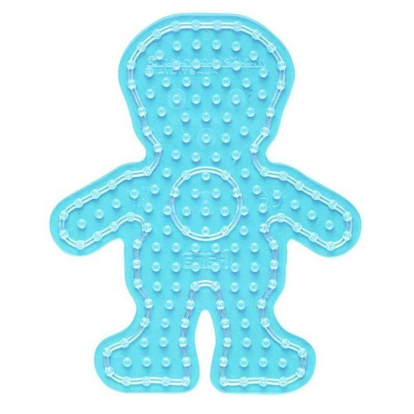 Boy Shaped Peg Board for Hama Maxi Beads (8208)