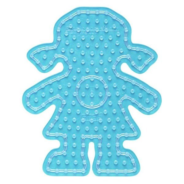 Girl Shaped Peg Board for Hama Maxi Beads (8207)