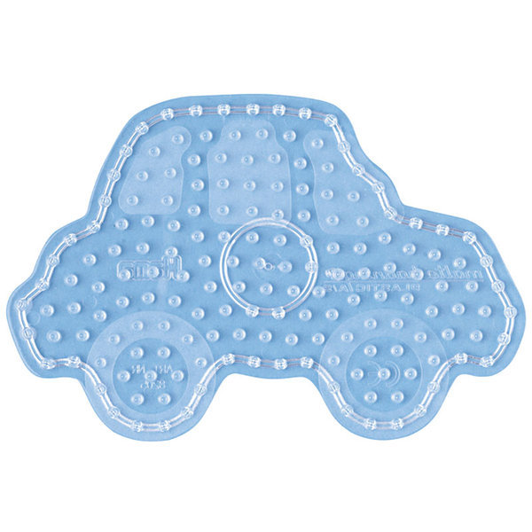 Car Shaped Peg Board for Hama Maxi Beads (8205)