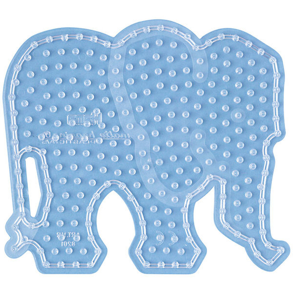Elephant Shaped Peg Board for Hama Maxi Beads (8201)