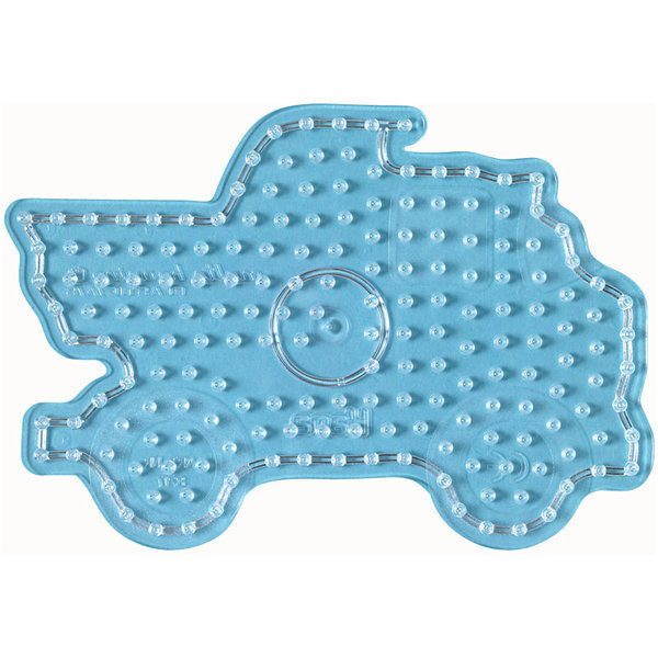 Truck / Lorry Shaped Peg Board for Hama Maxi Beads (8217)