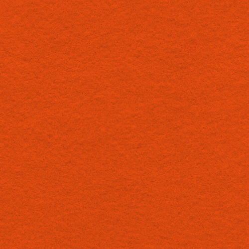 "Polyester Felt Sheet 9"" x 12"" in Orange"