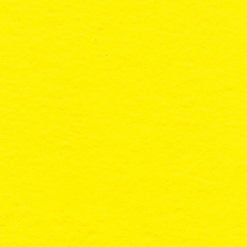 "Polyester Felt Sheet 9"" x 12"" in Yellow"