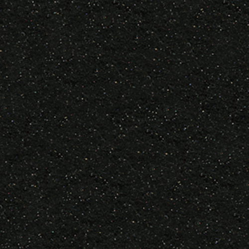 "Polyester Felt Sheet 9"" x 12"" in Black Glitter"