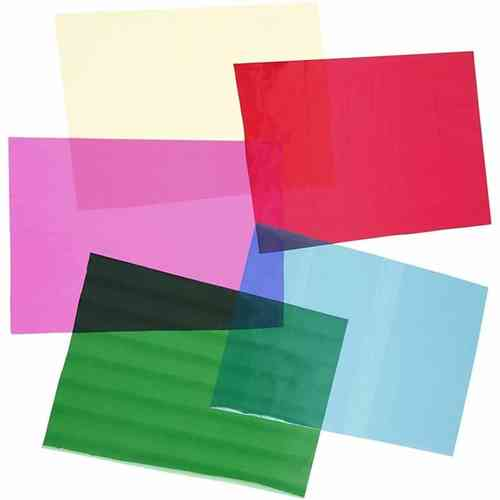 Multi Pack of A4 Cellophane Sheets - 5 Sheets