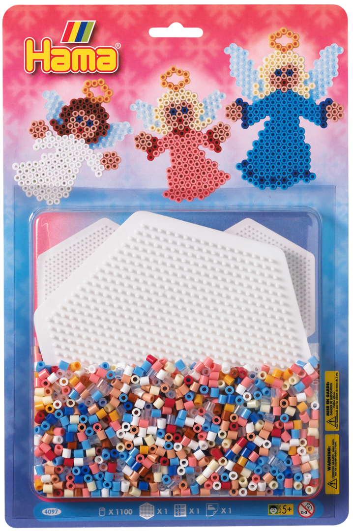 Large Hama Midi Bead Christmas Kit - Angels (4097)