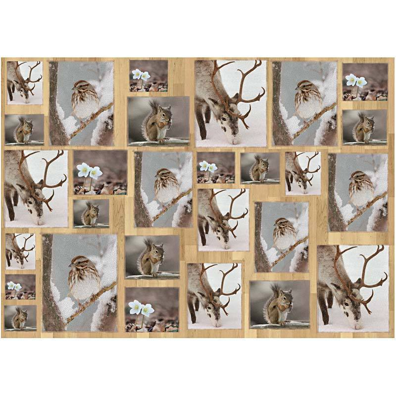 10 Sheets Paper for Decoupage in Oslo Nature 15 (25633/25570)