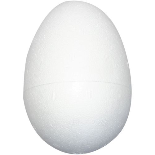 Polystyrene Egg 12cm Pack of 2