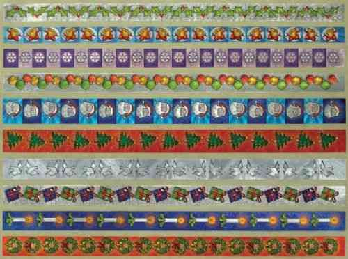 Dufex Christmas Border Stickers 1 (242538)