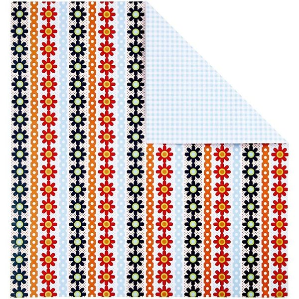Double Sided 12x12 Design Paper 'London' - Daisy Chains