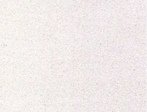 Single Sheet of Glitter Foam 200mm x 300mm x 2mm - White