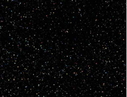 Single Sheet of Glitter Foam 200mm x 300mm x 2mm - Black