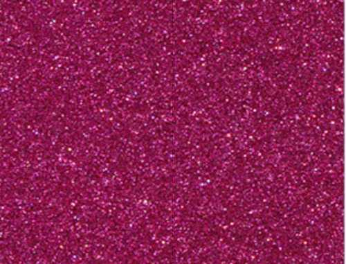 Single Sheet of Glitter Foam 200mm x 300mm x 2mm - Dark Pink