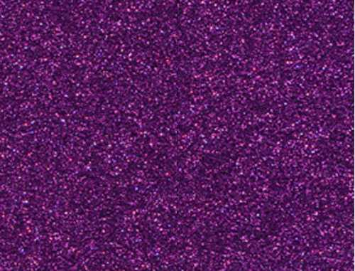 Single Sheet of Glitter Foam 200mm x 300mm x 2mm - Purple