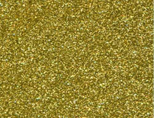 Single Sheet of Glitter Foam 200mm x 300mm x 2mm - Gold