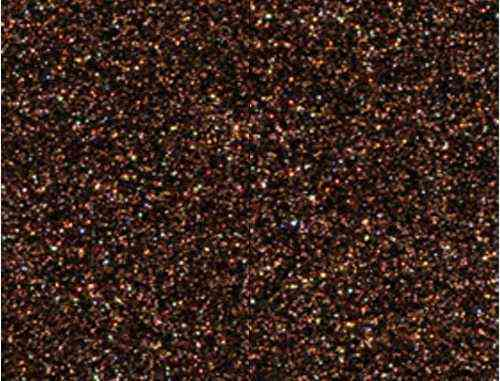 Single Sheet of Glitter Foam 200mm x 300mm x 2mm - Brown