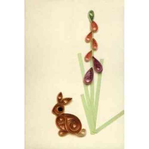 Simple Quilling Picture Kit - Rabbit *DISCONTINUED - Last Few Remaining*