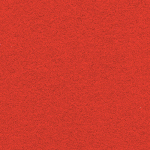 "Polyester Felt Sheet 9"" x 12"" in Red"