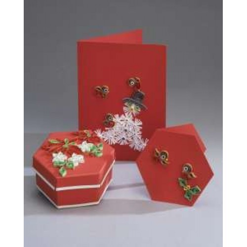 Quilling Card and Gift Box Kit - Snowman *DISCONTINUED Last Few Remaining*