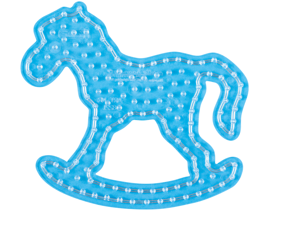 Rocking Horse Peg Board for Hama Maxi Beads (8221)