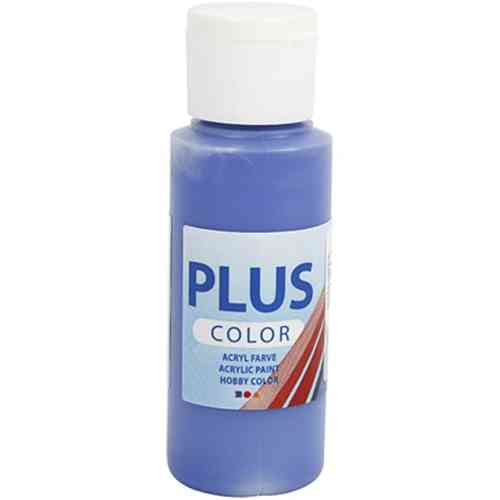 Plus Color Acrylic Craft Paint 60ml - Ultramarine