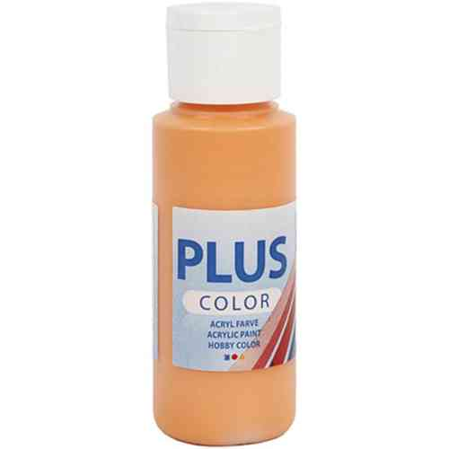 Plus Color Acrylic Craft Paint 60ml - Pumpkin