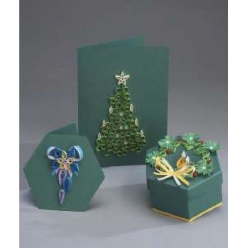 Quilling Card and Gift Box Kit - Christmas Tree *DISCONTINUED Last Few Remaining*