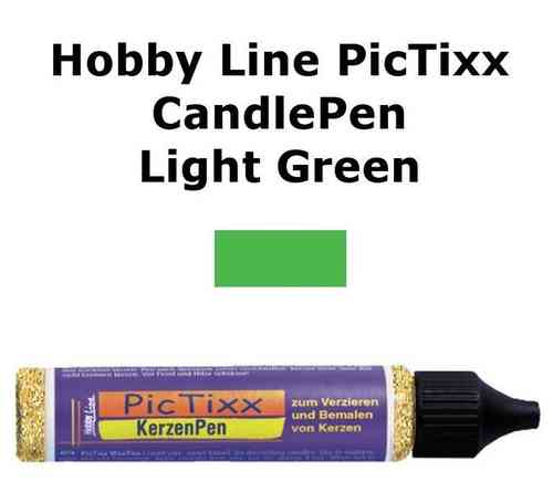 Pic Tixx Candle Pen - Light Green (49709)