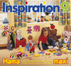 Inspiration 9 Ideas Book for Hama Maxi Beads
