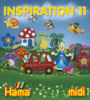 Inspiration 11 Ideas Book for Hama Midi Beads