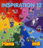 Inspiration 12 Ideas Book for Hama Midi Beads
