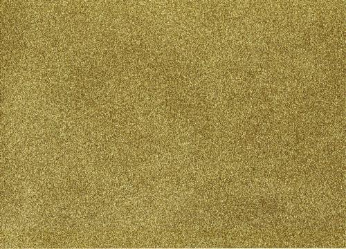 Pack of 10 A4 Sheets of Ultra Glitter Card - Gold