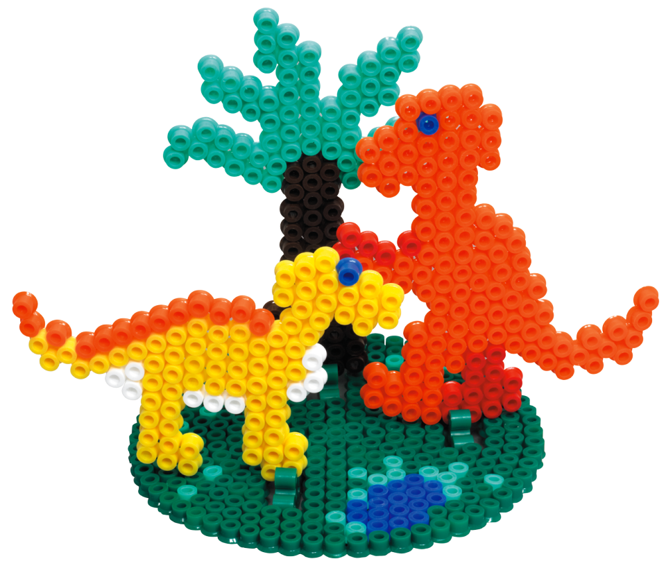 My Pocket Hama - Dinosaurs (Midi Beads)