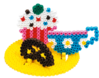 My Pocket Hama - Cupcake (Midi Beads)