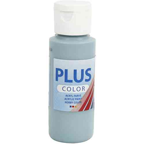 Plus Color Acrylic Craft Paint 60ml - Dusty Blue