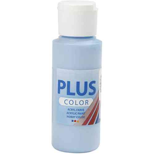 Plus Color Acrylic Craft Paint 60ml - Sky Blue