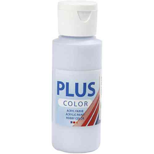 Plus Color Acrylic Craft Paint 60ml - Light Blue