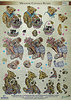 Dufex Die Cut Decoupage - Meadow Cottage Bears 1 (248709)