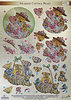 Dufex Die Cut Decoupage - Meadow Cottage Bears 2 (248710)