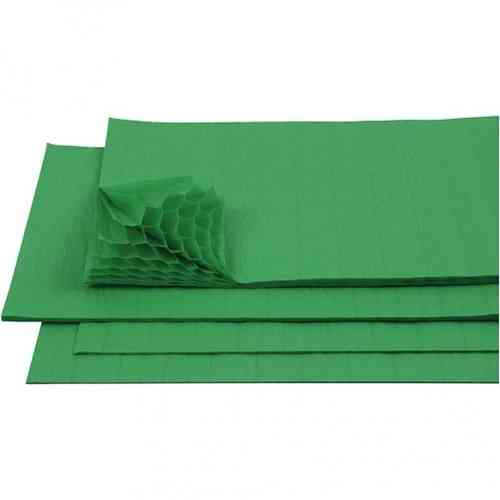 Honeycomb Tissue Paper - Dark Green