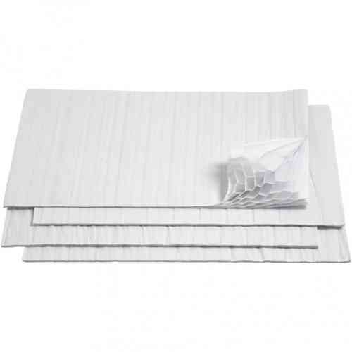Honeycomb Tissue Paper - White