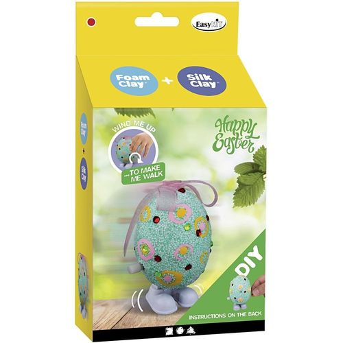 Silk and Foam Clay Easter Friends Kit - Easter Egg